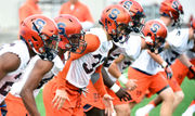 Syracuse football down to 4 healthy DEs in Week 2 of camp (what we learned)