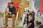 Dr. Seuss, king of rhyme, offers Springfield preschoolers a rollicking good time (photos)