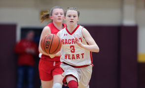 Action from Sacred Heart vs. St Catharine in a CYO Archdiocese of New York 7th grade JV Championship game, held at Monsignor Farrell High School, Oakwood. March 16, 2019. (Staten Island Advance/Derek Alvez)