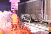 Truck driver in fatal crash tried to beat the train, police chief says