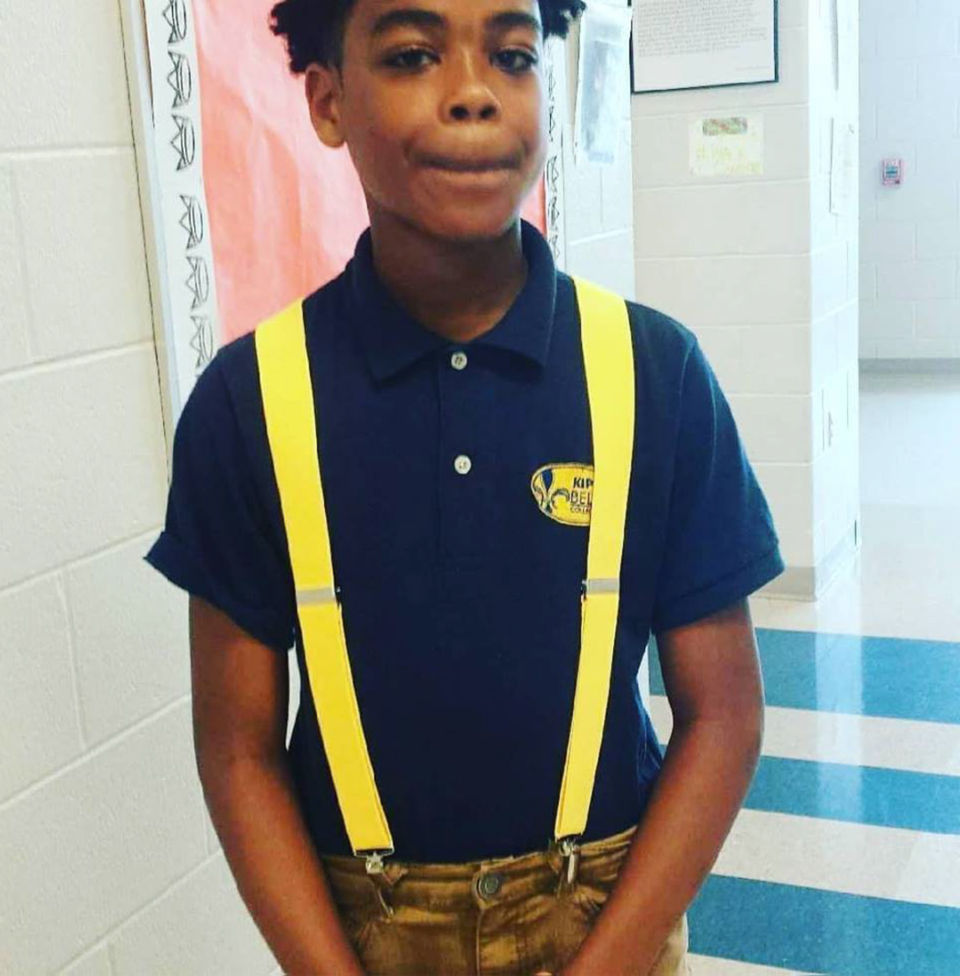 Ja'sean Williams, 14, is presumed dead following a police chase in St. Bernard Parish