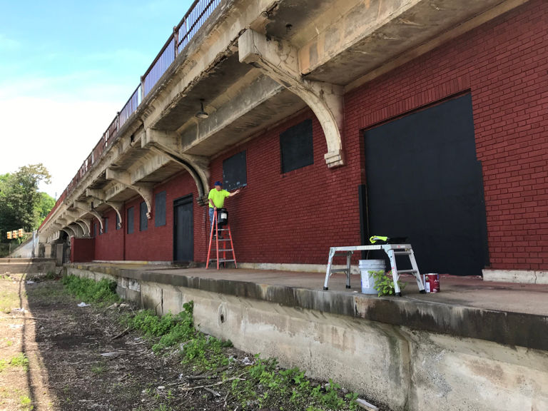 Battling graffiti is part of ongoing effort to beautify Easton and make it safer, police chief says (PHOTOS)