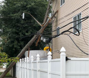 Truck incident brings down wires, KOs power in Midland Beach