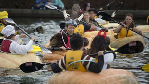Giant pumpkins become boats as costumed racers climb inside and paddle across a lake. It may not be graceful, but it sure will be fun. 10-4 p.m. Saturday, Oct. 28; Tualatin Lake of the Commons, 8325 S.W. Nyberg St., Tualatin; free; tualatinoregon.gov/pumpkinregatta