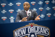 Dell Demps says Pelicans 'embracing challenge' heading into season
