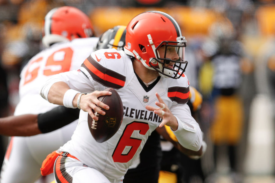 Baker Mayfield earns D-  in Cleveland Browns  loss at Pittsburgh Steelers   DMan s QB Report 8cefd9eb9