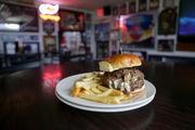 Rookie's rebrands as burger bar, boasts behemoth 'stuffed burgers'