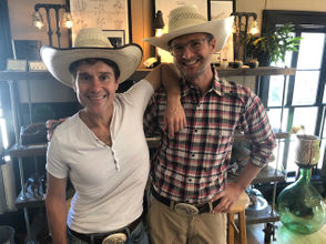 TV stars and home style experts, The Fabulous Beekman Boys -- Brent Ridge, left, and Josh Kilmer-Purcell -- attracted thousands of fans and friends to their famous Beekman 1802 Mercantile on Main Street.