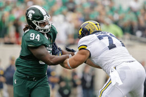 Michigan and Michigan State will meet on the football field for the 111th time on Saturday in East Lansing. While Michigan holds a healthy advantage in the all-time series, the Spartans have won eight of the last 10. The most memorable moments from each of those games are listed below.