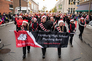 The annual 2018 Maple Hill Kalamazoo Holiday Parade included nearly 90 floats and five giant balloons.