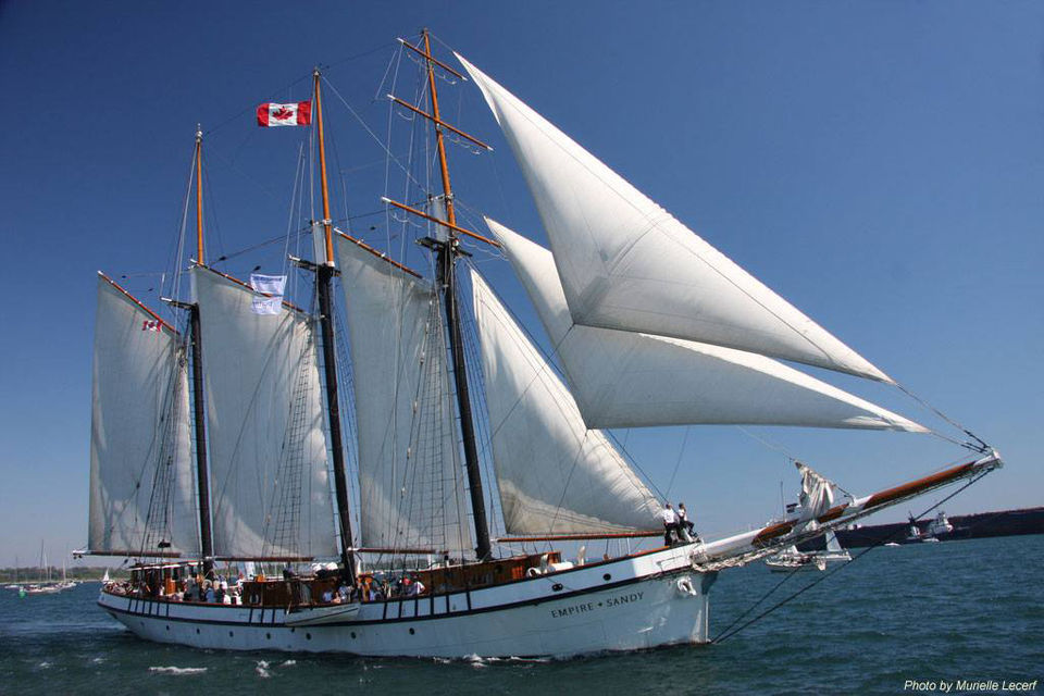 Fleet of 12 tall ships arriving in Buffalo for July 4