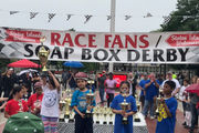In Class: Students compete in Soap Box Derby