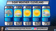 Starting week in 90s with possible storms, but cooling down with sunny skies later: Northeast Ohio 5-day weather forecast
