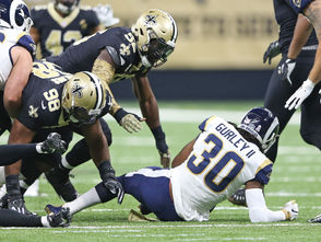 The Saints are superior to the Rams in several key areas. Their pass rush is better. Their kicking game is better. Their run defense is decidedly better. And their quarterback and head coach are more talented and experienced. They proved they were the most complete team in the NFL for 16 games this season and they proved they were better than the Rams in a 45-35 victory in Week 9. Add up all those factors and throw in the home-field advantage and you have the recipe for a blowout. The 2009-2010 NFC Championship Game was a dramatic nail-biter. This one won't be as close. The Saints will seize an early lead and gradually extend it as the Rams implode under the pressure. The good times will start to roll in the second half. The fourth quarter should be one big Black and Gold dance party on the Saints sideline, Choppa style.