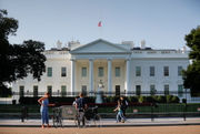 Flags back up at White House after John McCain's death