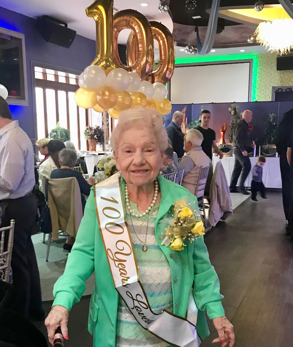 Outgoing New Springville resident with love of life rounds the century mark