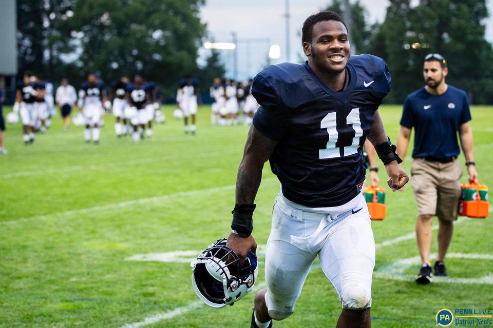 Penn State football practice, Aug. 8, 2018