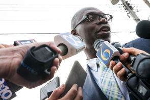 Whitmer already faced criticism for picking Garlin Gilchirst II as her Lieutenant Governor running mate because of his lack of political experience. Now the ticket is facing backlash over a property he owns and hasn't properly maintained in Detroit.  Deadline Detroit first reported on the property at 253 Marston St. in Detroit, which is blighted and was behind on property taxes until Gilchrist paid those on Monday, according to media reports.  Neighbors complained about the property as a nuisance and potential safety hazard.