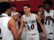 Paz does it again as Beca boys basketball beats Emmaus in EPC final