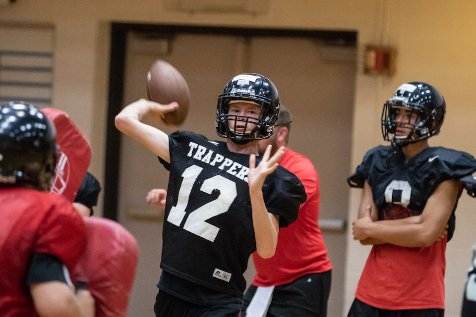 a87da5c4b03 Fort Vancouver Trappers prepare for 2018 high school football season  Photos
