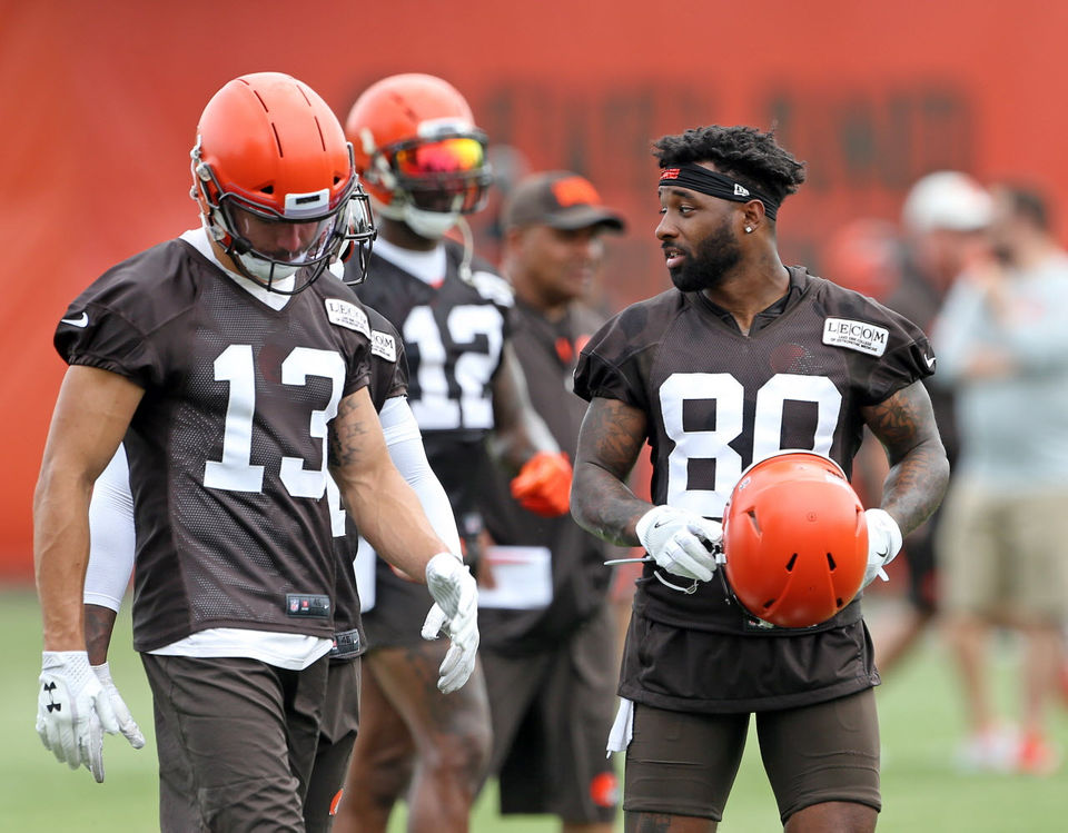Cleveland Browns Training Camp 2018  Wide receiver preview ... f6db9ff1e