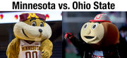 Ohio State vs. Minnesota by the numbers: sports, tuition and academics