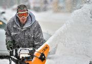 Snow, sleet, and freezing rain move into Syracuse (photos)