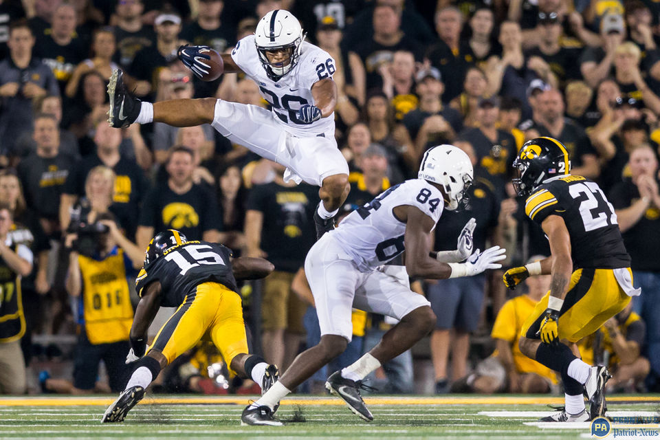 Penn State running back Saquon Barkley, the 2017 season