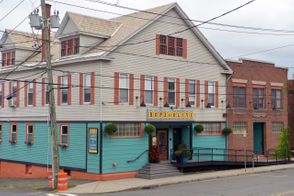 Hope & Olive is located at 44 Hope Street in Greenfield, Massachusetts.