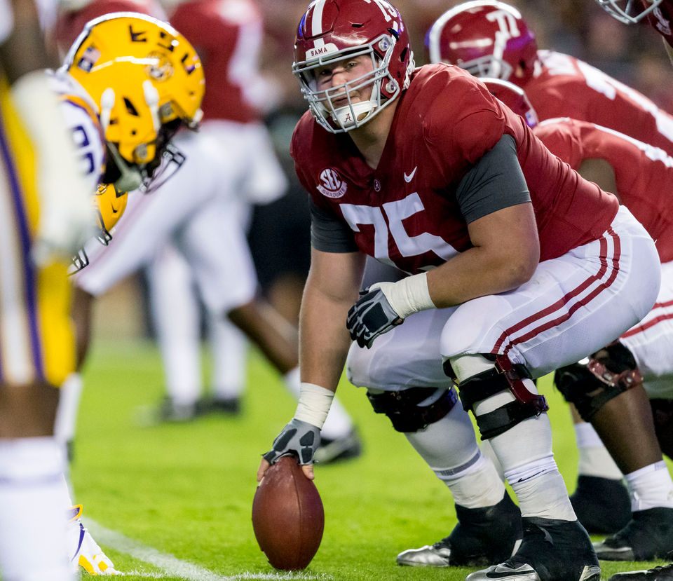 8 Alabama players named first-team All-SEC