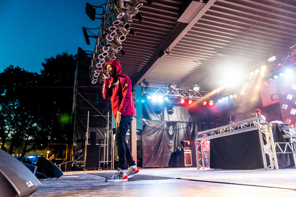 A Boogie Wit Da Hoodie Sets Record For Chevy Court Attendance Nys