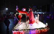 Santa Claus comes to town at Downtown Jackson Christmas Parade