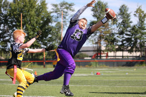 Next Level Sports Youth Flag Football League Action