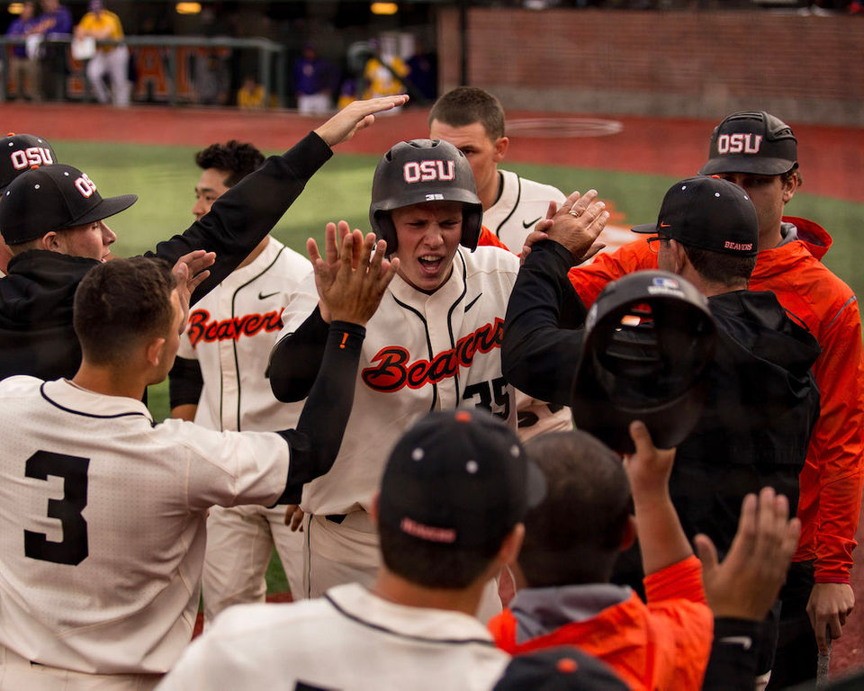 Oregon State vs. LSU in Corvallis Regional final