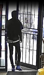 Birmingham police are trying to identify a man suspected in the fatal shooting of a man Oct. 14 at M & N Groceries.