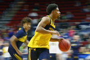 Michigan holds open practice before NCAA Tournament game against Montana