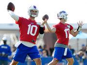 AJ McCarron brings 'swagger' to Buffalo Bills' quarterback competition