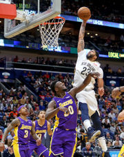 Pelicans 'fight through the fatigue' to grab another win in the clutch