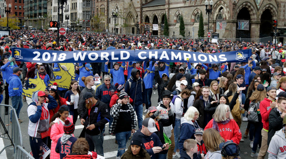 7c1647b5 Patriots Super Bowl parade 2019: Look back at nearly two decades of ...