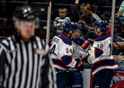 Saginaw Spirit qualify for playoffs, but see home win streak snapped