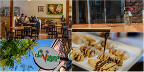 """LAKEWOOD, Ohio - Laura Ross and Justin Gorski knew they were running out of room to grow. When the husband-and-wife duo opened Lakewood's Cleveland Vegan in 2014, they already had an established catering presence in the city. With a brick-and-mortar, fans flocked to the cozy restaurant at 17112 Detroit Ave. for their seasonal menus and sweets. This May, they announced the restaurant was ready to expand. With the purchase of the former Retro Rosie boutique storefront next door, they knocked down the dividing wall and added another 1,000-square-feet. The space, which was once a part of the former hobby shop that Cleveland Vegan now occupies, debuted this week. """"Pinch me, I'm still excited,"""" Ross says while showing off the airy addition."""