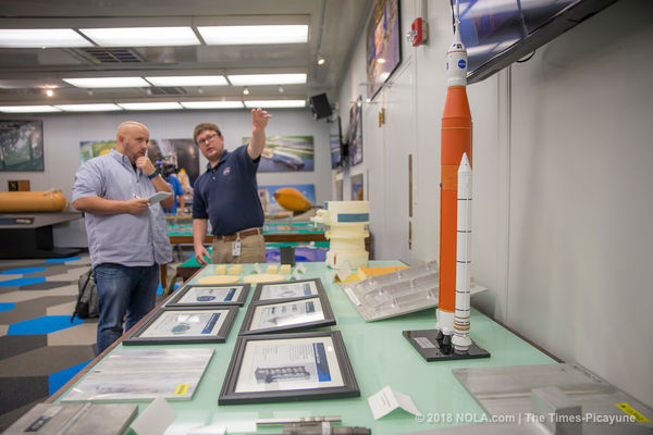NASA officials unveil the latest rocket parts built in New Orleans - nola.com