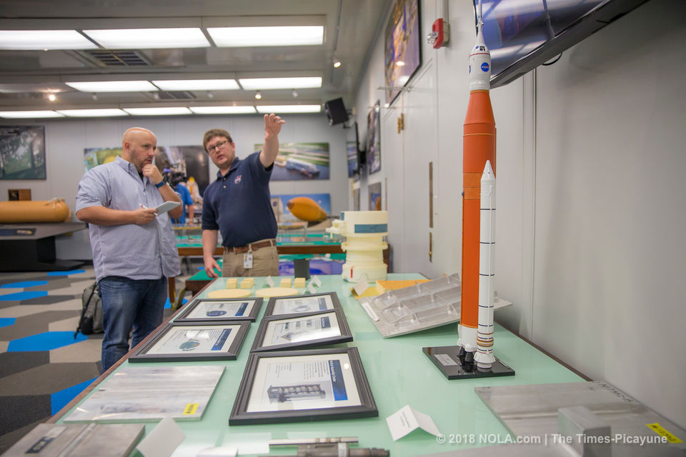 NASA officials unveil the latest rocket parts built in New Orleans | NOLA River