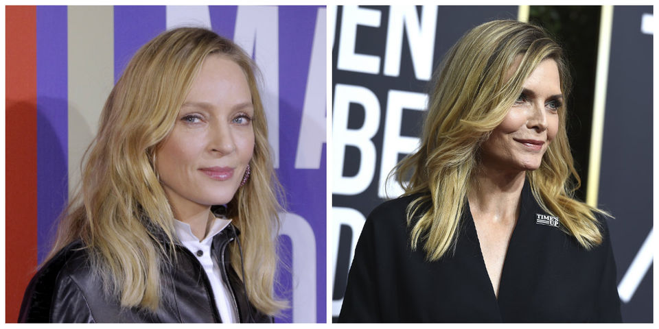 Today's famous birthdays list for April 29, 2019 includes celebrities Uma Thurman and Michelle Pfeiffer