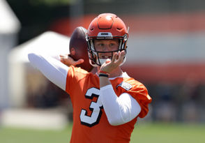 """Former Eastern Michigan standout Brogan Roback might be the fourth-string quarterback of the Cleveland Browns, but he was one of the stars of the first episode of HBO's, """"Hard Knocks."""" All four Browns quarterbacks -- Roback, Tyrod Taylor, Drew Stanton and 2018 No. 1 overall pick Baker Mayfield -- have rented a recreational vehicle as a getaway space during the grueling days of training camp. Stanton, a former Lion and the oldest quarterback of the group, reportedly put the responsibility of providing the RV to Mayfield, but Roback was the one who gave the tour on """"Hard Knocks."""" """"People have been Tweeting me nonstop, asking me, 'Is brogan allowed in the RV?'"""" he said on the reality sports documentary. """"I'm saying, 'The last time I checked, I was a QB too.'"""" RELATED: Former Eastern Michigan QB 'excited' to be teammates with No. 1 pick Baker Mayfield Roback, who signed as an undrafted free agent in May, gave a rundown of his responsibilities, which includes keeping the fridge stocked with water and diet Coke, and making sure snacks are properly laid out for the others to consume. """"If I don't lay out things the right way and the presentation is poor, they are going to have my (expletive),"""" Roback said. Apparently, Stanton was not satisfied with the presentation. """"Brogan, you just bringing the box of snacks in there doesn't suffice, and that is the saddest looking fridge in there,"""" Stanton yelled at Roback during a practice. """"I looked in there today and it was like three waters, two diet Cokes. It is a group with high expectations, Brogan. Not ungrateful, high expectations."""" This isn't the first time Stanton has spent a training camp in an RV. Clevelandbrowns.com recently reported that that Stanton and fellow veteran Shaun Hill had Matthew Stafford -- the No. 1 overall pick in 2009 -- provide one for the Detroit Lions QBs in 2010. Nevertheless, Roback, a four-year starter with the Eagles, still won over many Browns fans over on social media for his performance, and his n"""