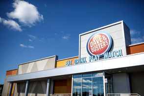 A preview of the new Dave & Buster's, opening October 22 at the Capital City Mall.
