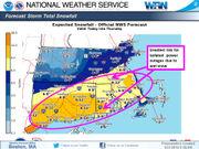 Approaching nor'easter will strike Southeastern Massachusetts hardest