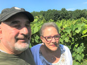 Mike and Margaret Lytz of Sarah's Vineyard serve vintages in the valley: My Cleveland