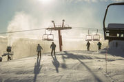 Nub's Nob ski resort resurrects popular half pipe, fans are lining up