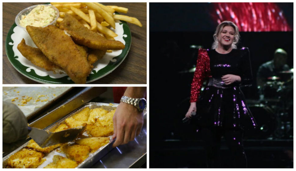 Fish fry Friday, Kelly Clarkson's concert & other entertainment stories you might have missed today
